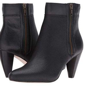 Black Lizard Leather Size 8M Corso Como Autumn